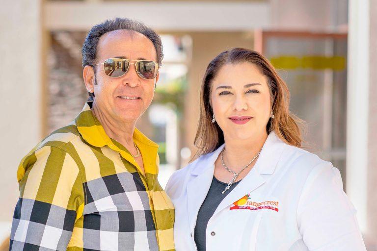 Orangecrest Dental Staff Member and Patient